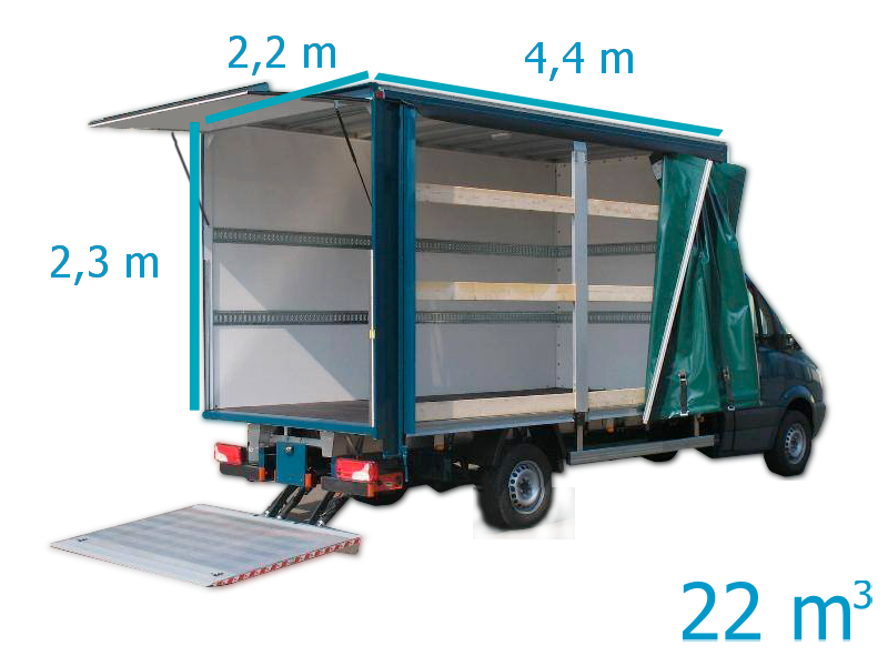 camion 22m3 Dos